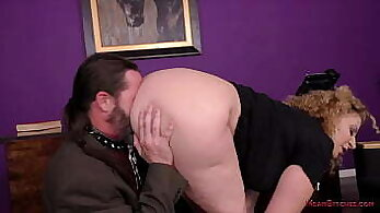 Classy pawnee with natural tits Sara Jay gets poked by her boss