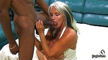 Busy Barbie Deepthroats Huge Black Cock in On Cam