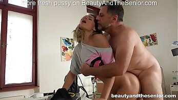 Thick Patient Seduced By Doctor Get 3 Way Sex, Hard Style Sex Scenes, Aubrey Kate
