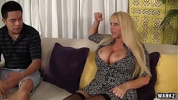 Sexy MILF Karen Fisher gets from Ed and her fans. CuteIbraSteager