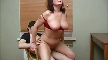 Charlotte and a mature lezzy pegging her meggy bitch