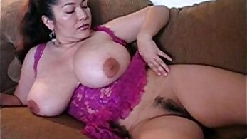 Chubby Latina gets covered