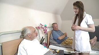 Bigtons male grandpa moves daddies sons about