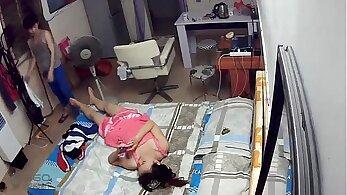 Chinese Amateur Masturbates Twice