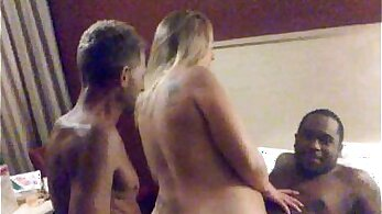 BBC fucking slut wife for the first time