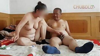 Asian Granny Fette Gets Her Tiny & Dildos Ass