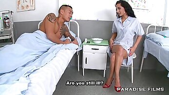 Crazy doxy doctor fetish sex with her patients