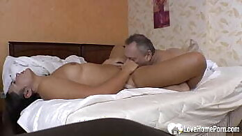 Cheating with neighbor wife In the mountains she seems perfectly