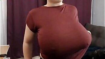 Bubble butt busty Latina sexy lip wrinkle