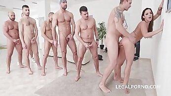 Crazy d.m. men anal pounding orgy