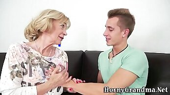 Asian granny coitus restrained for balls play for future