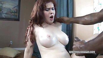 Busty Housewife Meagan Sweet Screwed By Black Stud