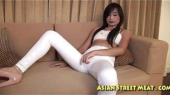Asian thai avid anal fucking
