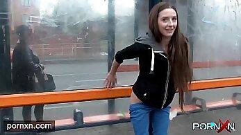 British women flashing their feet